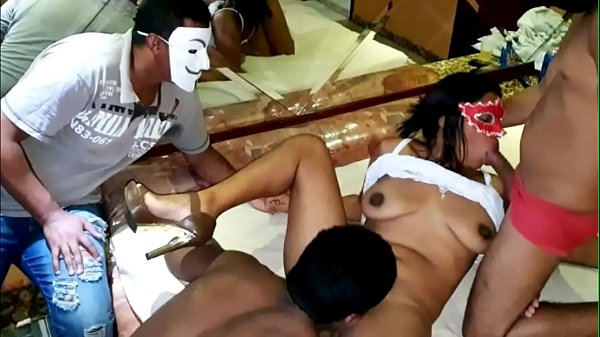 Brazilian real amateur cuckold takes his hot wife fo fuck two bbc wile he watch it all - Full Video On Xvideos RED Thumb