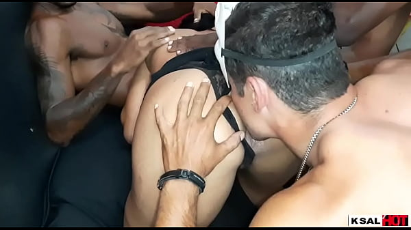 Ksal Hot, arrives from her tour tour, and the naughty Danny hot asked her friend, call three gifted to fuck her, without your husband at home.