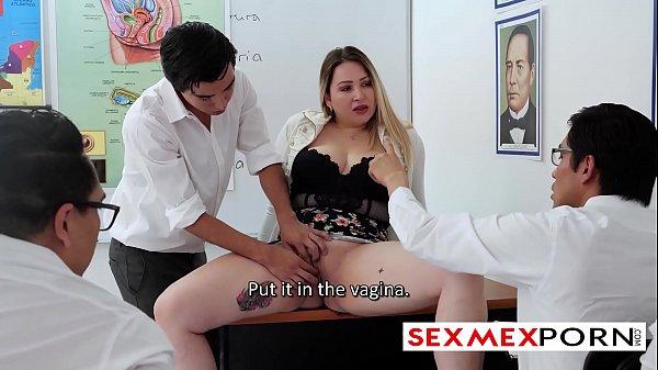 www.sexmexporn.com Horny Mexican Teacher fucks her students loreesexlove pamela rios porn latinas milfs slutty teachers young guy with boner fucks his teacher