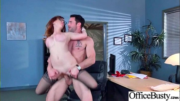 (Dani Jensen) Big Round Tits Girl Love Intercorse In Office video-15