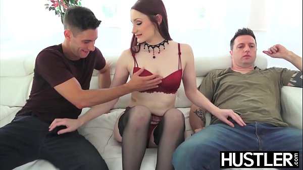 Alluring Violet Monroe destroyed with double pe...