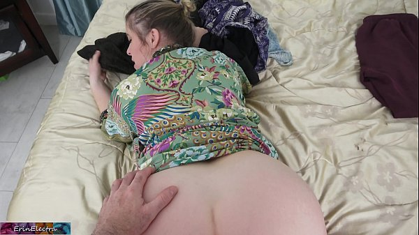 Stepmom lets her stepson fuck her while she folds the laundry Thumb