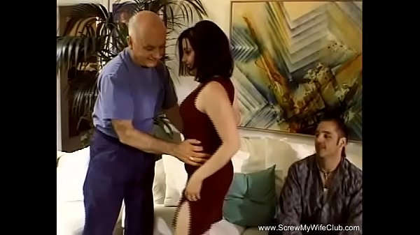 Brunette MILF Screwed Housewife