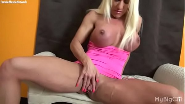 Female Muscle Pornstar Ashlee Chambers Big Clit thumbnail