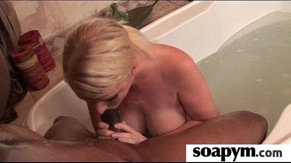 Babe gives erotic soapy massage 2 Thumb