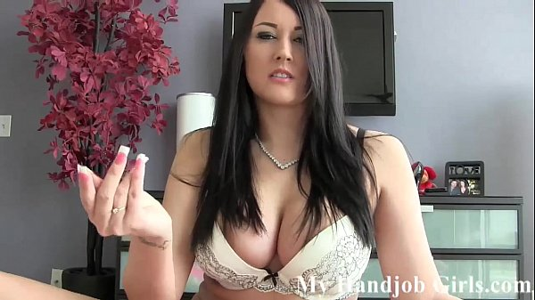 You need a nice handjob from a hot MILF JOI
