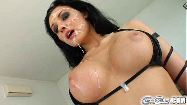Aletta Ocean five guy bukkake cumshot orgy Thumb