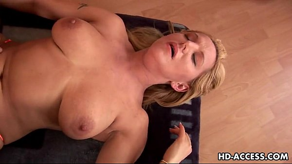 Big tits mature babe getting fucked hard