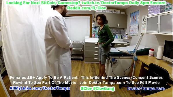 CLOV Become Doctor Tampa & Strip Search Miss Mars Who Is Suspected Of Carrying Illicit Substances Inside Of Her Vagina - Smuggling Drugz, Inc @CaptiveClinic.com