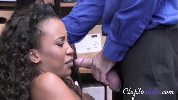Ebony Teen Sluts Caught For Stealing By Cop- Demi Sutra And Lala Ivey