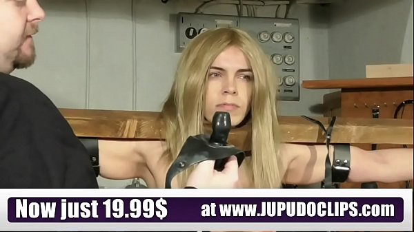 Jupudoclips.com - Slave Training Punishment Blonde Student Thumb
