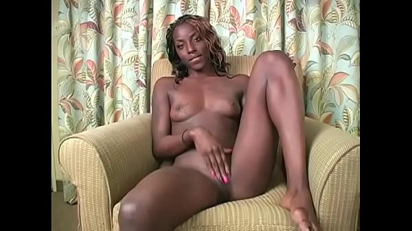 Ebony goddess makes your stroke your tiny cock ...