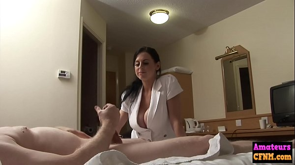 Busty cfnm babe fucked by amateur Thumb