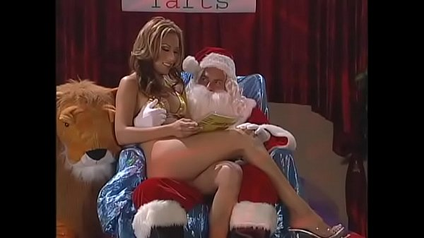 Lusty Santa gives the smart babe the best Christmas present Thumb