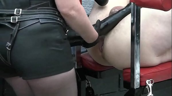 Deep Horse Cock Fucking For Sissy
