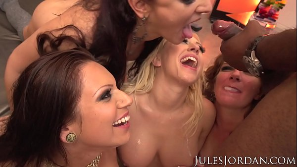 Jules Jordan - Orgy Masters Party Guess Who Gets DP'd - Alana Rains, Kagney Linn Karter, Lexington Steele, Prince Yahshua, Savannah Fox, Sheena Ryder, Tori Avano
