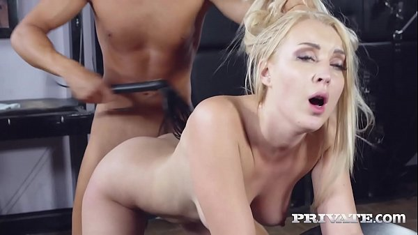 Private.com - Blonde Beauty Amaris Bound, Banged & Cummed On