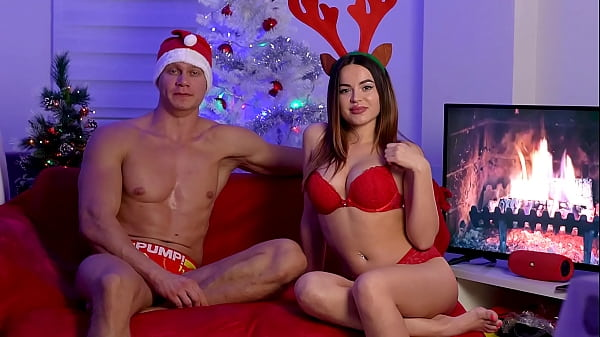 XXXmas Greetings. Bad Santa Claus Alexandr Great Fuck me near the Christmas Tree