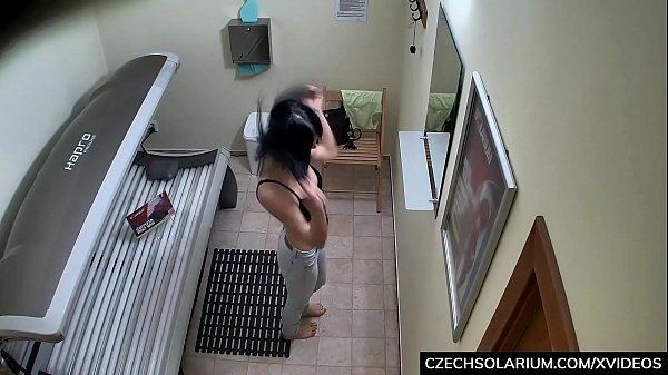 Czech Brunette Secretly playing with Pussy