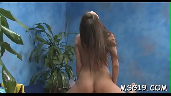 Sexy girl sucks and fucks chap