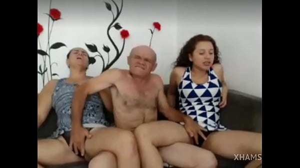 Old man pleasing pussy of his granddaughters - Part 1