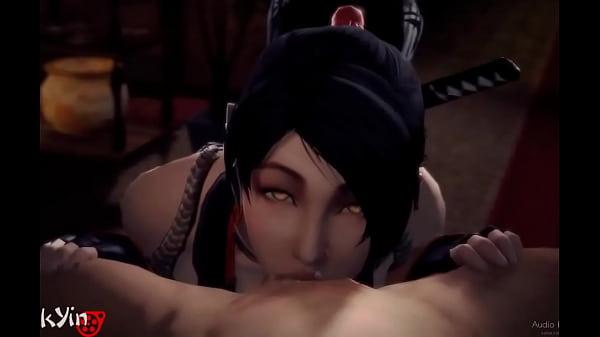 「SUCCulent Shrine Maiden」by pockYin [Ninja Gaiden/d. or Alive SFM Porn]