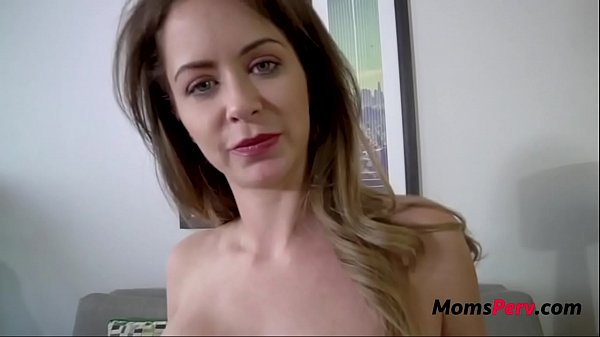 Old Cheating Mom Blackmailed By Horny Son