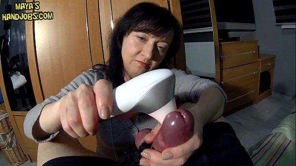 Womanizer Pro on rock hard cock