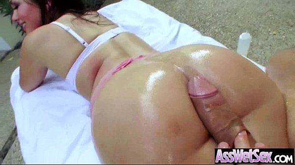 Big Ass Girl Get All Oiled Up And Anal Hard Style Banged movie-05
