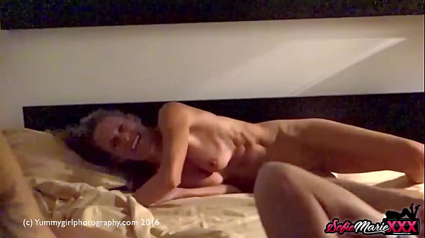 Adorable Sofie Marie Stuffed With Dildo In Naug...