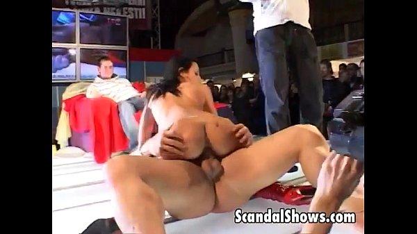 Sexy girl getting nailed really hard