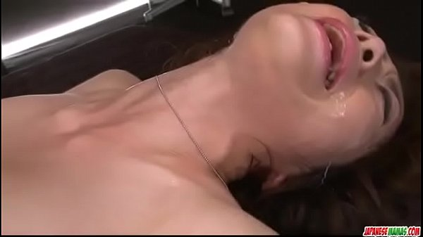 Dashing hardcore group sex with office lady, Maki Hojo