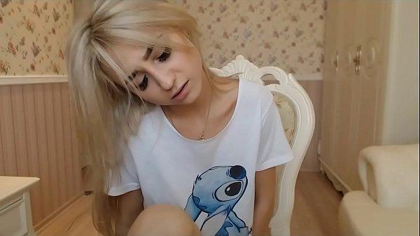 Cute Petite Teen Masturbating