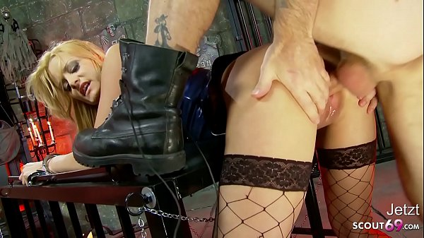 MISTRESS TEEN STACEY ROUGH ANAL SEX BY OWN SLAVE AT SESSION