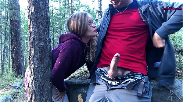 Sucked a Stranger in the Woods to Help Her - Public Sex Thumb