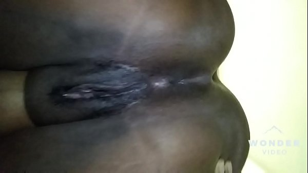 A Quick Tease of Wet Ebony Pussy and Tight Ass