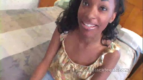 College Black Girl Fucks a White Cock