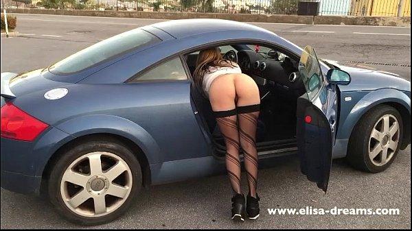 Flashing my butt in public