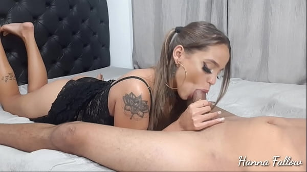 Nine minute blowjob Hanna fallow paying nice bl...