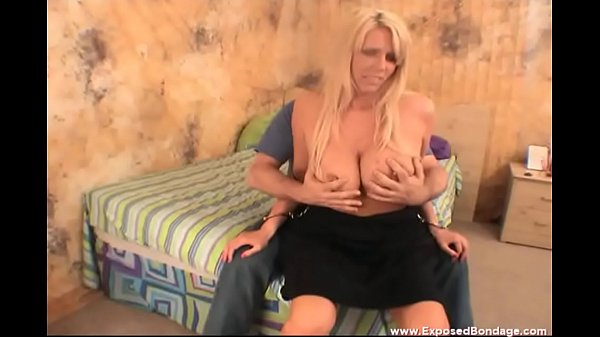 MILF Stripper Karen Fisher Grinds On My Lap While Chained To A Bed! Thumb