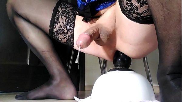 Sissy Dildo Ass Fuck Till Cum