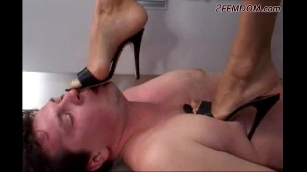 Russian Goddes trample slave Thumb