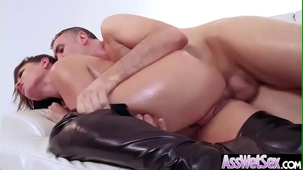Deep Hard Anal Sex With Lovely Big Round Butt Girl (Eva Angelina) video-14