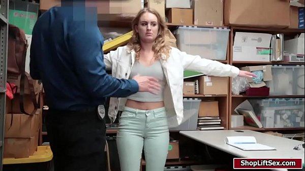 Sexy Daisy fucked hard by LP officer