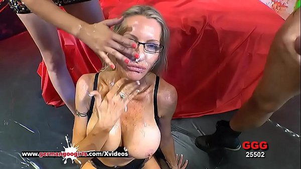 Busty Mature Emma Starr Cum Hungry in Germany - German Goo Girls Thumb