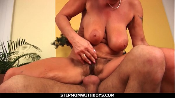 Stepmom With Boys Stepmom Sucks Tits Together W...