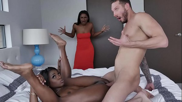Black Stepmom Secretly Starts To Jerk Her Daughter's White Bf Giant Cock - Evi Rei, Ana Foxxx