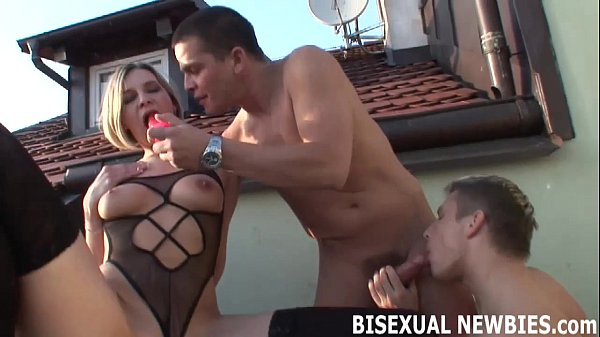 Your first bisexual threesome is going to be amazing