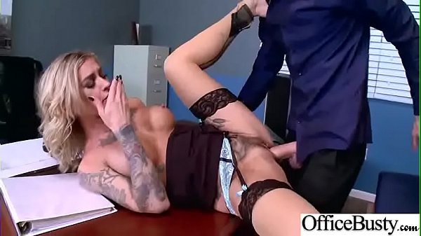 Gorgeous Girl (Kleio Valentien) With Big Tits Love Sex In Office vid-11