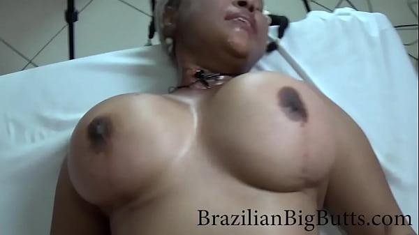 BrazilianBigButts.com girl gets her big boobs b...